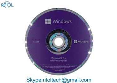 Italian Windows 10 Pro 32 Bit OEM , DVD Professional Windows 10 Pro 64 OEM