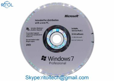 Retail Version Windows Product Key Code Windows 7 Professional SP1 64 Bit License